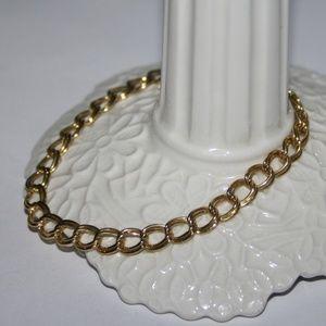 """Vintage gold charm bracelet 7.25"""""""